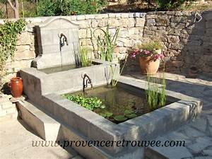 Fontaine Cascade Bassin : installer une fontaine en pierre dans son jardin ~ Premium-room.com Idées de Décoration