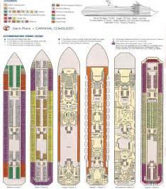 carnival conquest deck plan