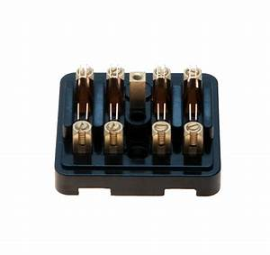 Sf4 Type Fuse Box For Four Glass Type Fuses  Repro
