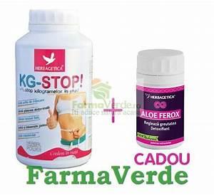 KG STOP 610 gr+Aloe Ferox 40 cps GRATIS! Herbagetica