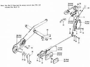 Datsun 240z Door Lock  Window Regulator  U0026 Door Handle  To