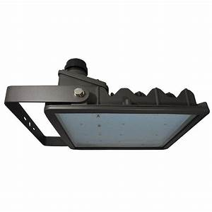 Radiance watt bronze integrated led outdoor flood light yoke mount ral l u czy the