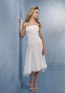 short strapless white wedding dresses styles of wedding With white short wedding dress