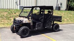 2012 Polaris Ranger Crew Upgrades Including Hilifter Lift  Winch Top  Street Legal