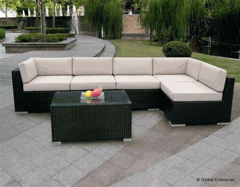 beautiful outdoor patio wicker furniture seating 6pcs