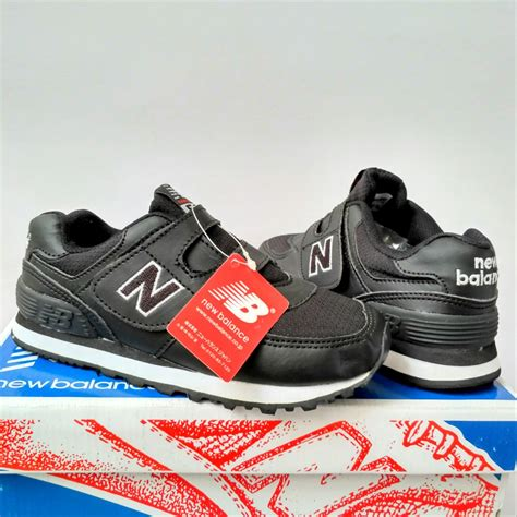 Harga Sepatu New Balance Warna Biru jual sepatu anak new balance warna hitam laki laki
