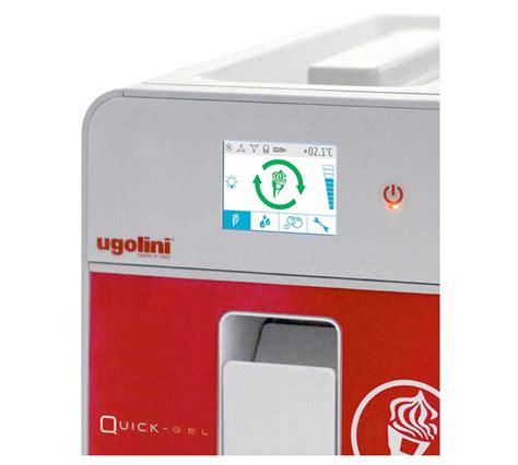 Máquina Soft Ugolini QuickGel Mixer