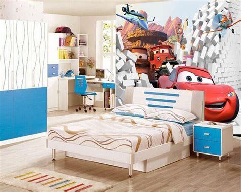 tapisserie chambre ado gar輟n papier peint 3d sur mesure les voitures papier peint
