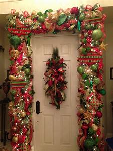 Red, Green, And, Gold, Christmas, Garland, Tothegoodlifewithme, Wordpress, Com
