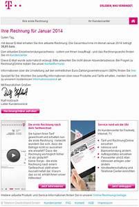 Telekom Deutschland Rechnung : phishing mail alerts januar 2014 ~ Themetempest.com Abrechnung