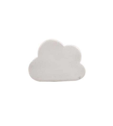 bouton de tiroir enfant bouton de meuble nuage en porcelaine boutons mandarine