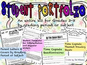 Student portfolio from teacheropolis on teachersnotebook for Academic portfolio template