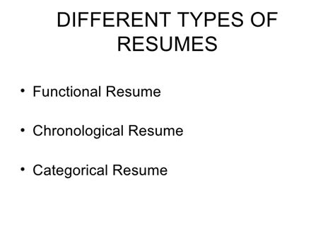 When Is Chronological Resume Not Advantageous by When Is A Chronological Resume Not Advantageous Resumes