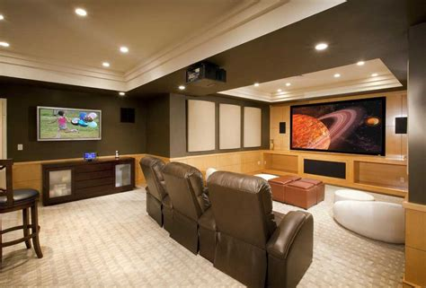 cool basement ideas  entertainment traba homes