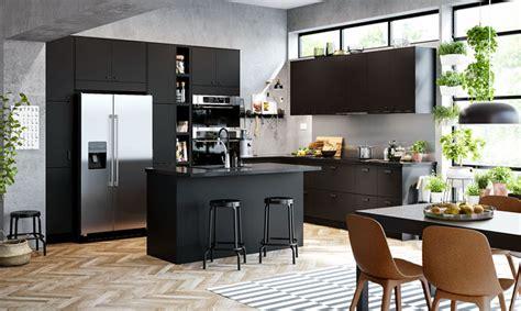 black kitchen cabinets   creative designs