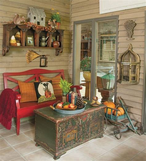 how to create a cohesive fall style in a three season sunroom
