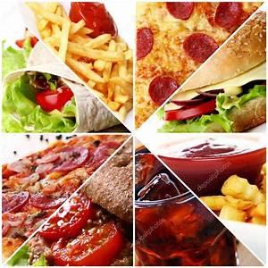 Fast Food Collage — Stock Photo © yekophotostudio #5974401