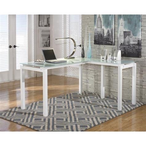ashley furniture l shaped desk signature design by ashley furniture baraga l shaped desk