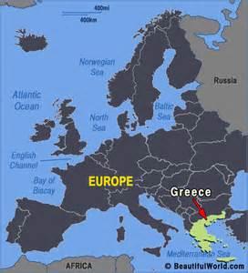 Greece Map Europe