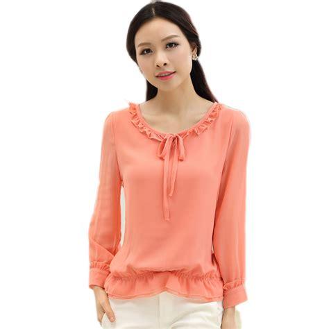 womens plus blouses ᗖroupas feminina ruffled tops and blouses