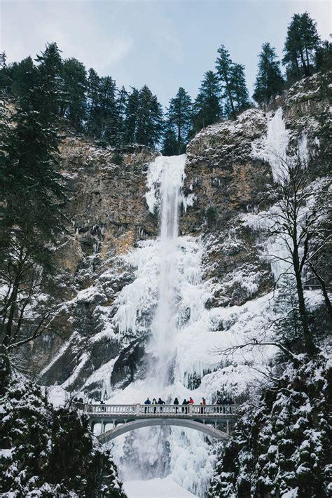 bridge   wintry waterfall photo  susan yin atsyinq