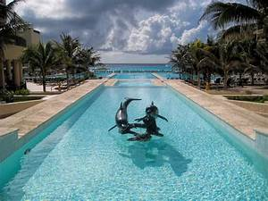The Royal Sands Pool Cancun Mexico Widescreen Wallpaper