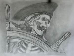 Kunst Zeichnungen Bleistift : pirat bleistiftzeichnung pirat zeichnung skelett von achwas bei kunstnet ~ Yasmunasinghe.com Haus und Dekorationen