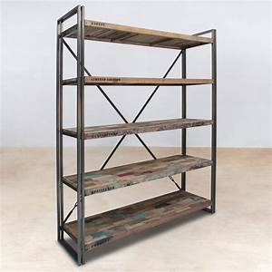 Etagere Bois Recycle