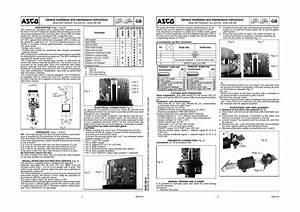Asco Series 290 Pressure Operated Valves Positioner