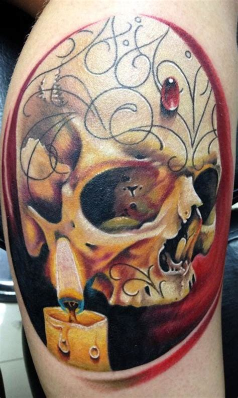dazzling candle tattoos tattoodo