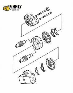Ford Backhoe Hydraulic Pump New 445 445a 450 540 540a 545