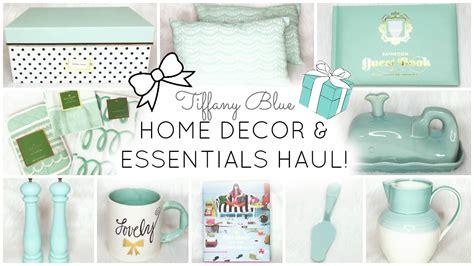 Home Decor Essentials : Tiffany Blue & Aqua Home Decor & Essentials Haul