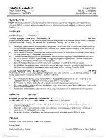 profile resume sle accounts related resume