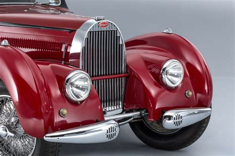 It is a genuinely distinctive model that was purchased by british racing driver and bugatti enthusiast earl howe in 1937. Bugatti Type 57C Atalante - 1938