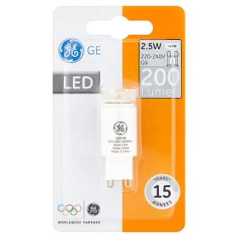 led capsule light bulb g9 2 5w from ocado
