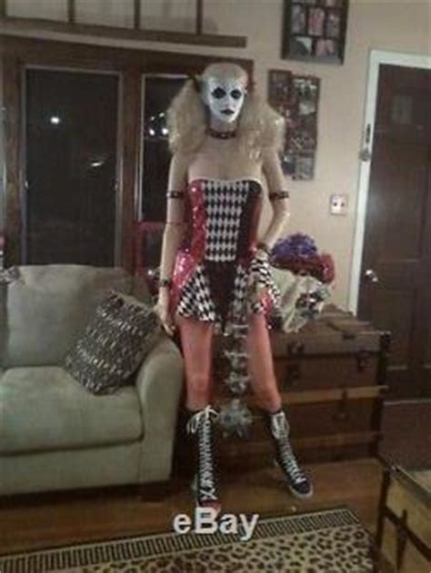 harley quinn life size mannequin halloween prop zombie