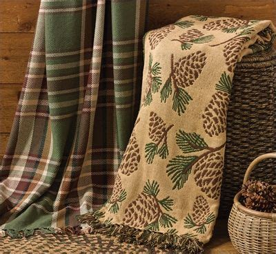 country throw blanket wood river cotton throw blanket