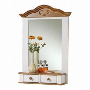 Spiegel Weiß Antik : wandspiegel spiegel kiefer massiv 2 schubladen ~ Sanjose-hotels-ca.com Haus und Dekorationen