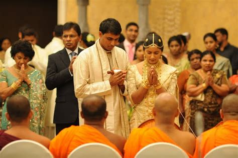 srilanka sinhala buddhist wedding   sri lankan