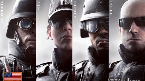 siege v駘o rainbow six siege fbi swat operator unlock hd