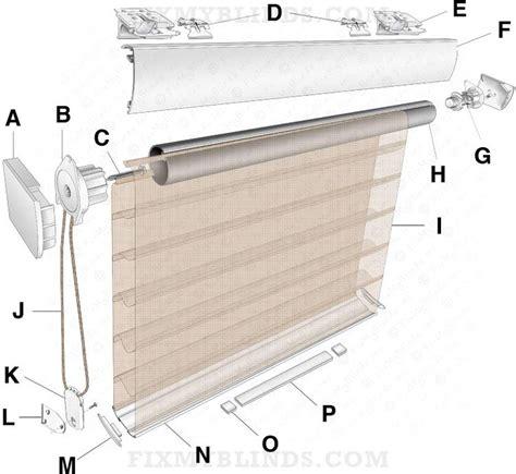 blind repair diagrams visuals images