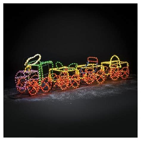buy dobbies 3d rope light train from our all christmas