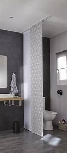 Panneaux Pour Salle De Bain : panneaux japonais dans votre salle de bains leroy merlin ~ Dode.kayakingforconservation.com Idées de Décoration