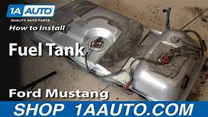 How To Replace Fuel Tank 83-97 Ford Mustang  Part 2