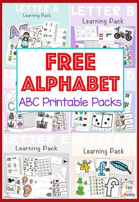 free alphabet abc printable packs with 916 | e3c97d18de8c9af39ff9dee0235c17e2