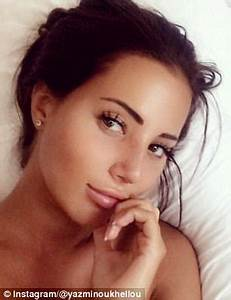 TOWIE's Yasmin Oukhellou shows off new nose in Marbella ...