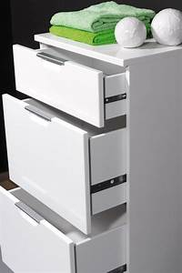 meuble rangement salle de bain tiroir chaioscom With meuble salle de bain tiroir