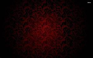 Swirling Royal Red and Black Pattern Wallpaper | pictures ...