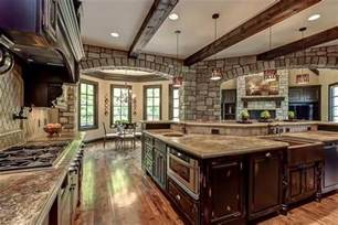 open house plans with large kitchens big open kitchen homes