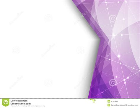 Abstract Futuristic Corner Background Stock Vector